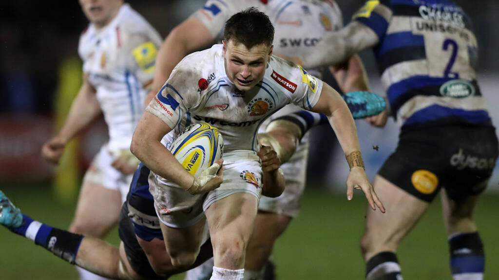 Exeter Chiefs name side to face Bath