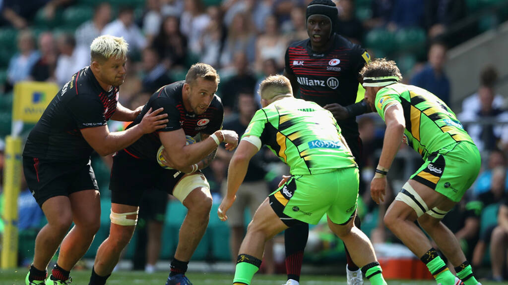 Round 19 Preview: Northampton Saints v Saracens