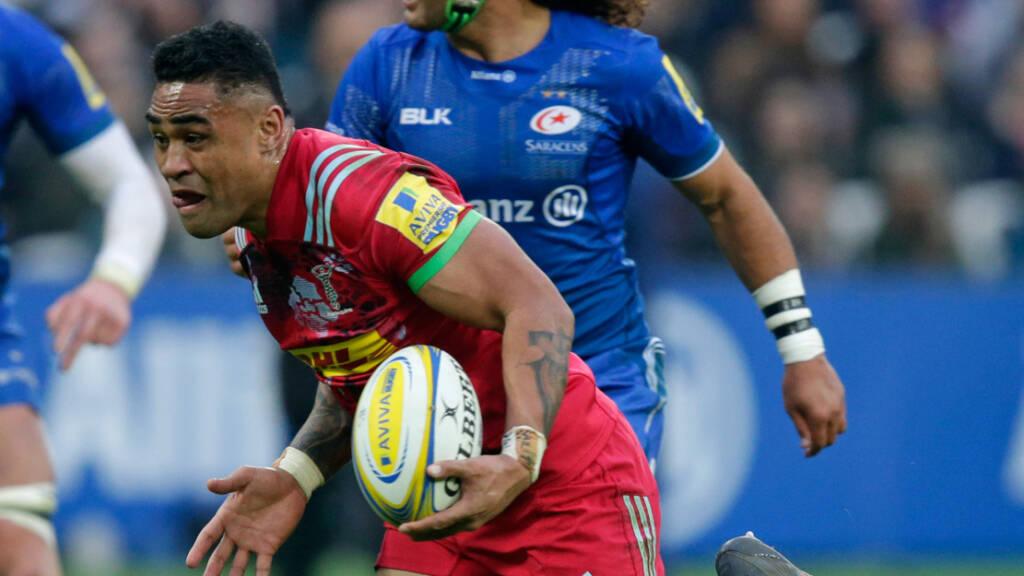 Harlequins name matchday squad to face London Irish