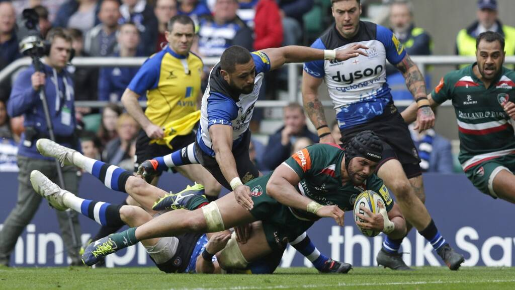 Match Report: Bath Rugby 19 Leicester Tigers 34