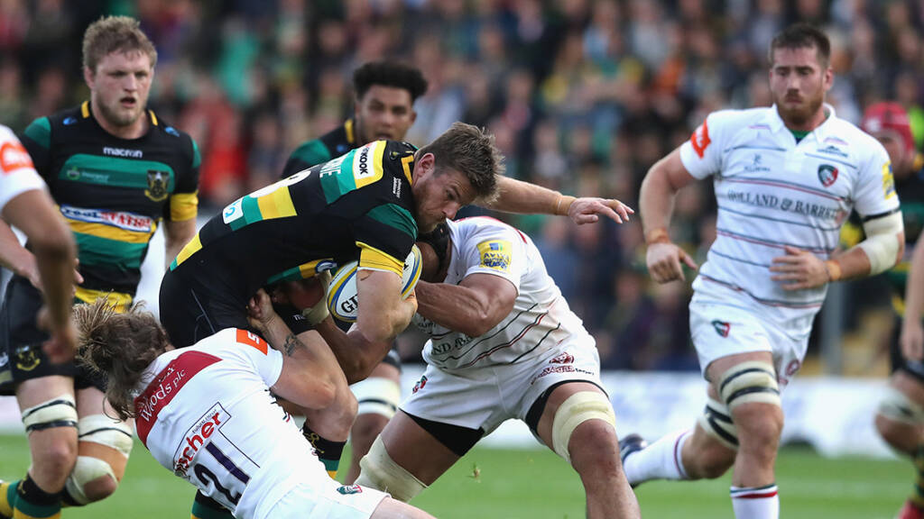 Leicester Tigers v Northampton Saints (Welford Road, 3pm)