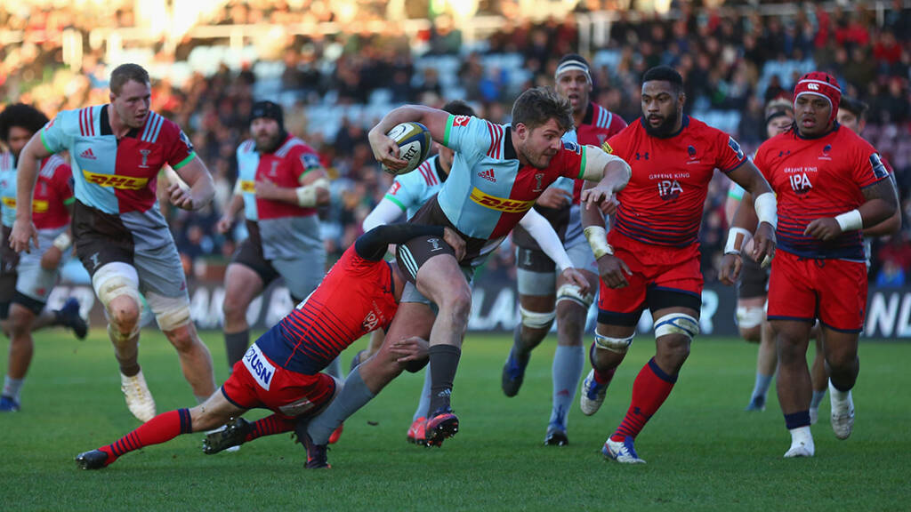 Harry Sloan to Leave Harlequins at the End of the Season