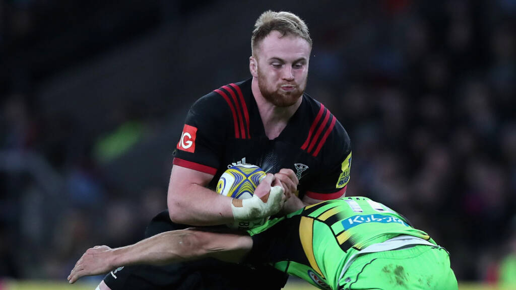 Harlequins name matchday squad for Gloucester Rugby trip