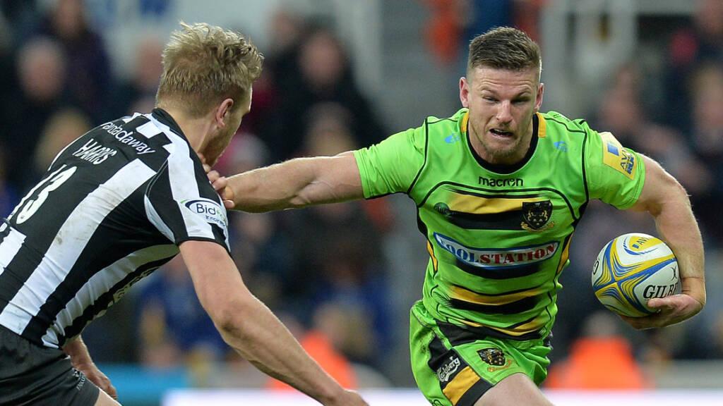 Horne to skipper Northampton Saints for East Midlands derby