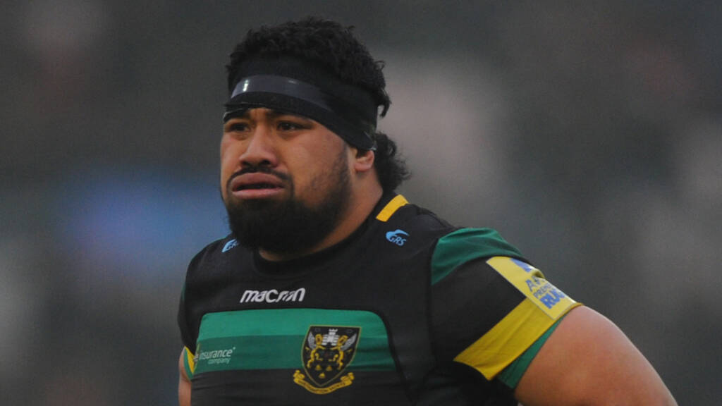 Campese Ma'afu to leave Northampton Saints