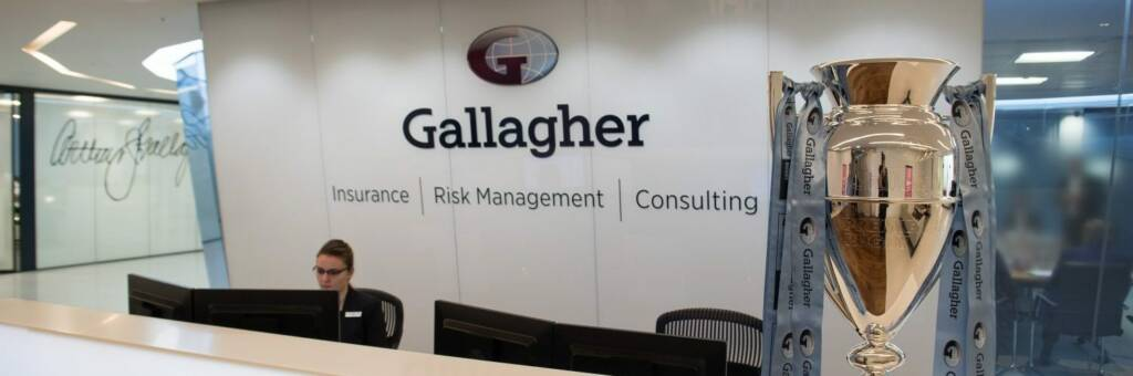 Gallagher proud partners of Premiership Rugby