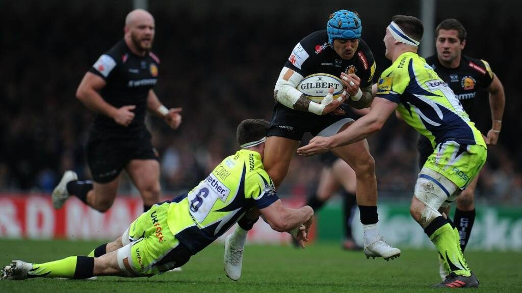 2face65e5b1 Match Reaction: Exeter Chiefs 34 Sale Sharks 19 | Premiership Rugby