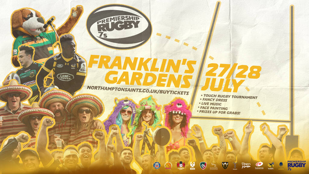 Premiership Rugby 7s Returns to Franklin's Gardens
