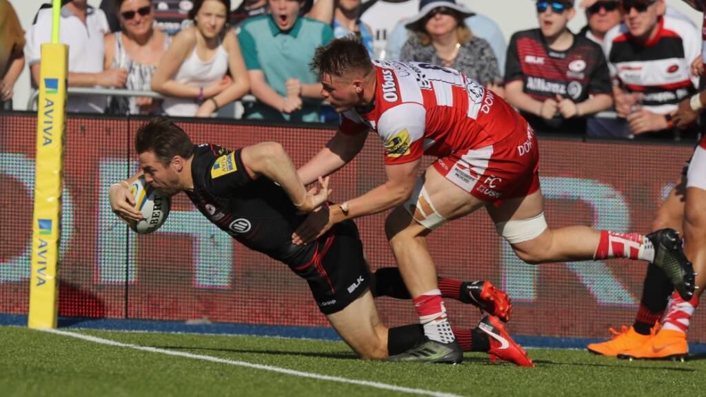 Match Report: Saracens 62 Gloucester Rugby 12