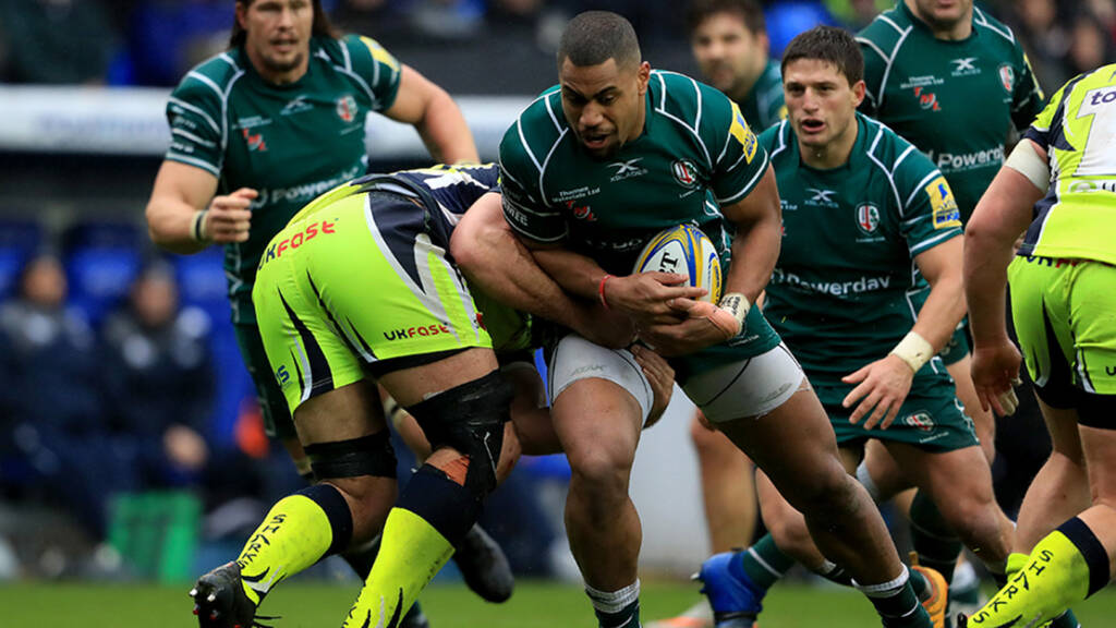 Bath Rugby signs London Irish powerhouse Joe Cokanasiga