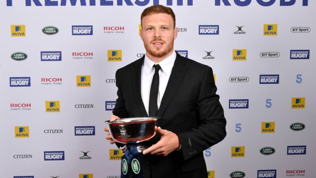 Sam Simmonds' superb year earns him Land Rover Discovery of the Season award