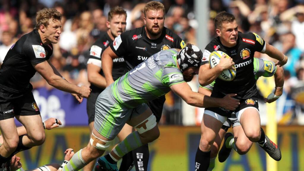 Joe Simmonds, Exeter Chiefs