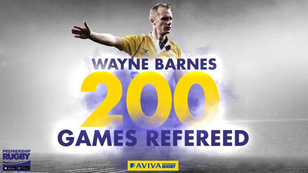 Barnes to bring up his double ton at the 2018 Aviva Premiership Rugby Final