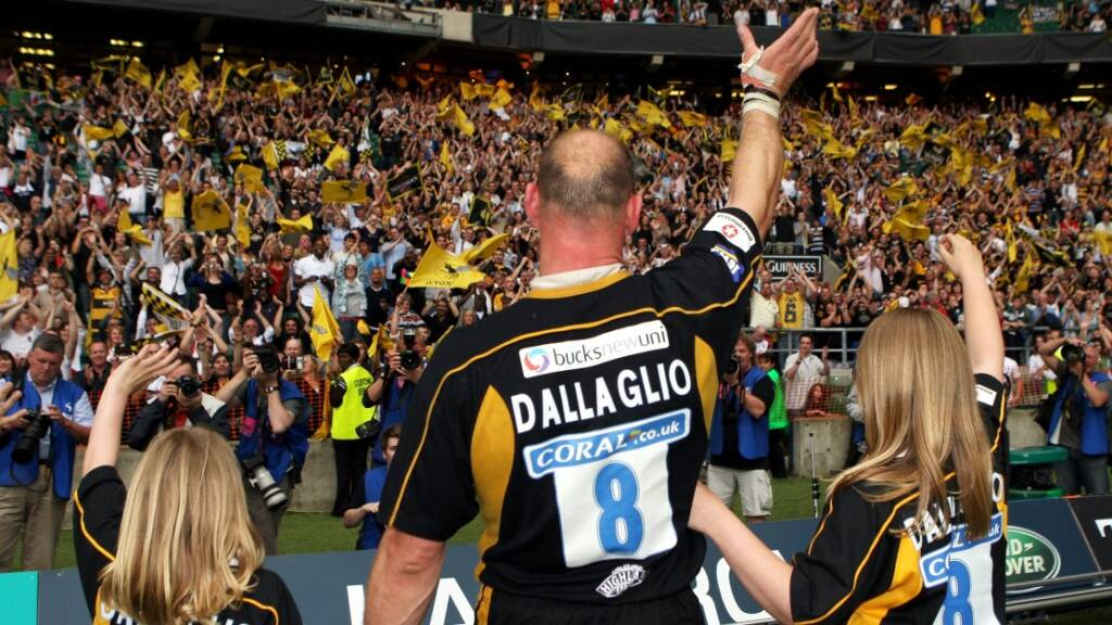 Flashback: Lawrence Dallaglio signs off with Wasps in perfect style in 2008