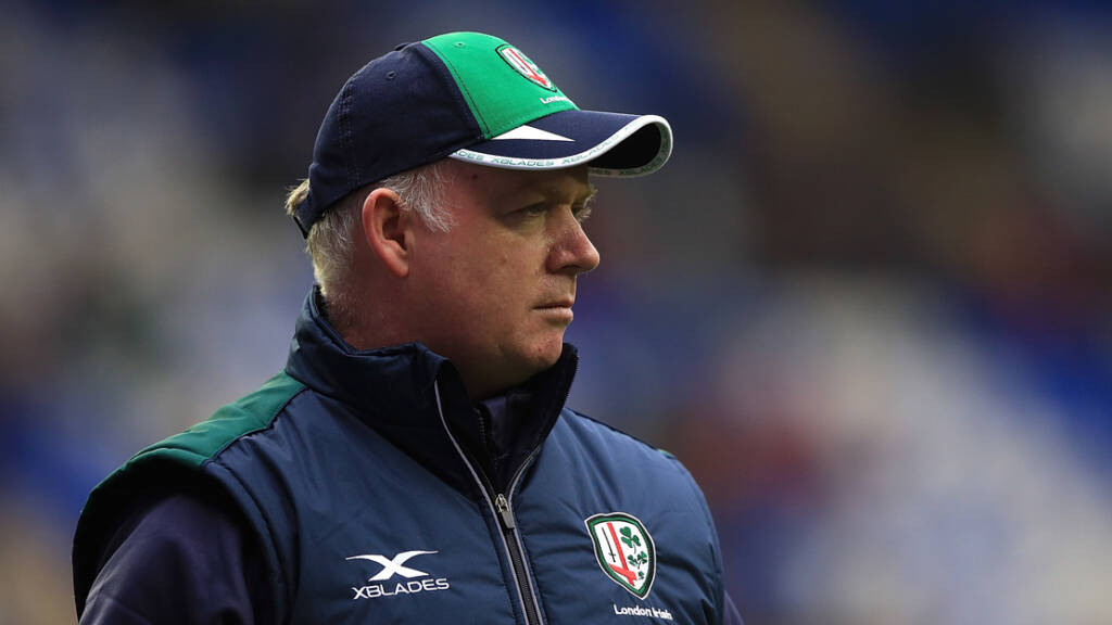 Declan Kidney confirmed as London Irish director of rugby