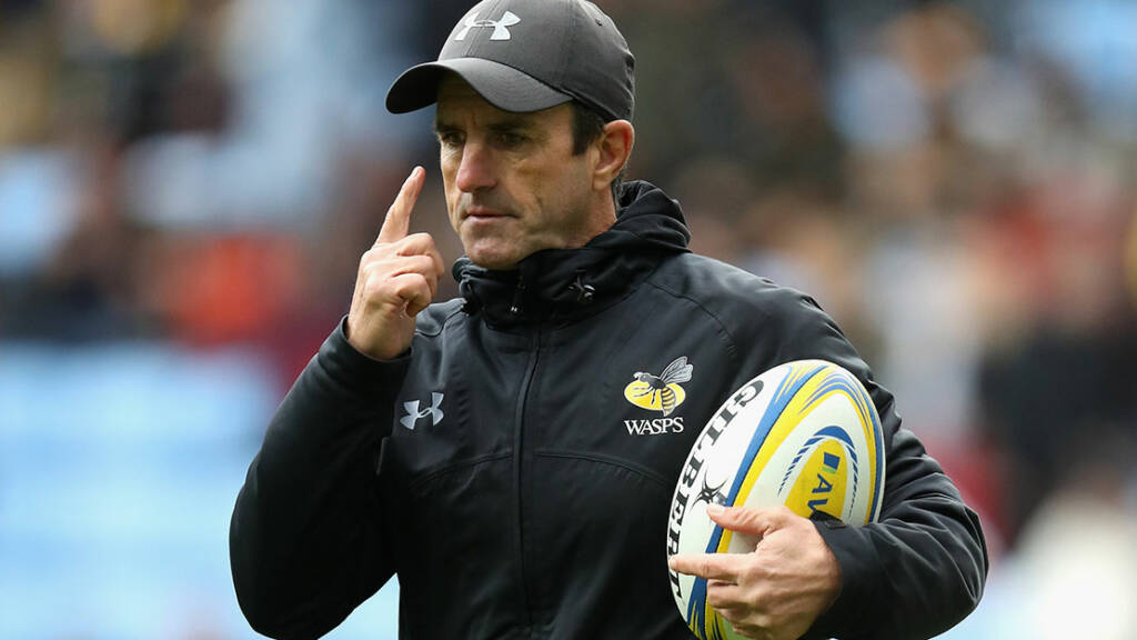 Wasps coaching arrangements for 2018/19