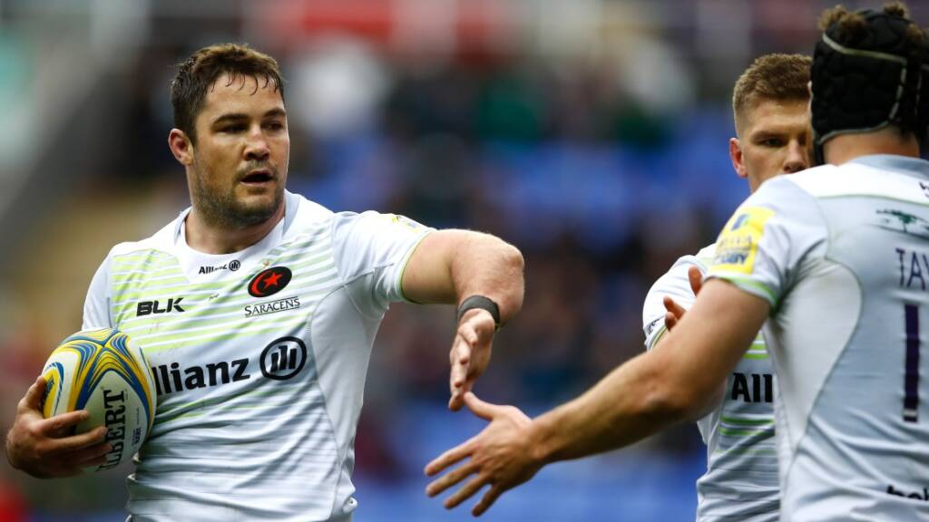Barritt proud of Saracens' turnaround upon reaching Aviva Premiership Rugby final