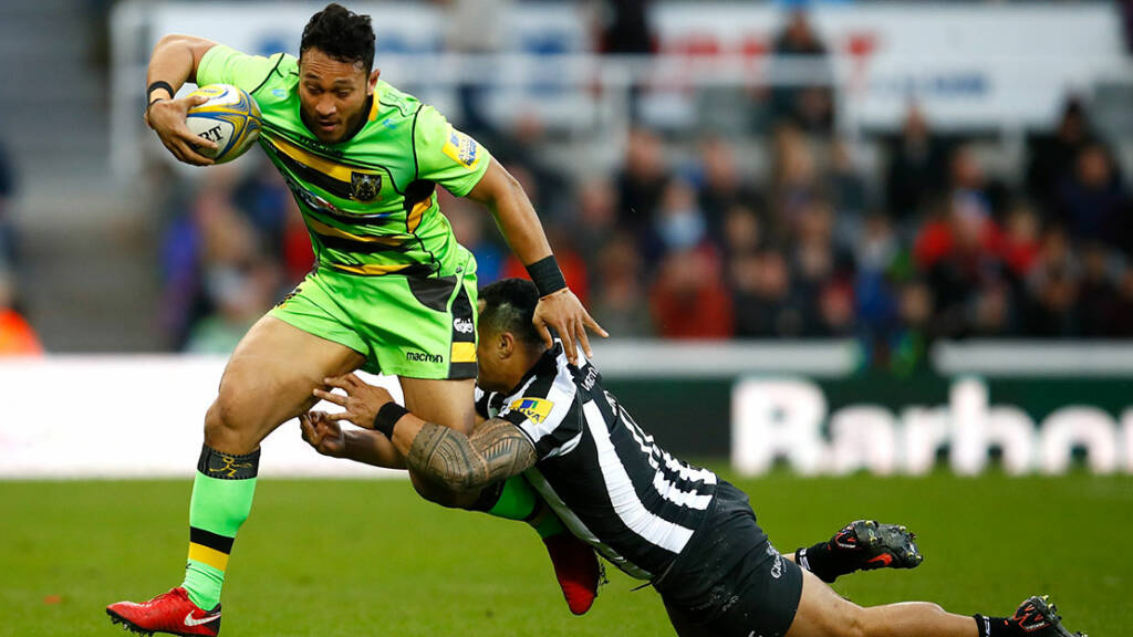 Nafi Tuitavake Signs New Contract with Northampton Saints