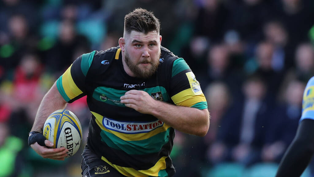Wasps sign England international prop Kieran Brookes