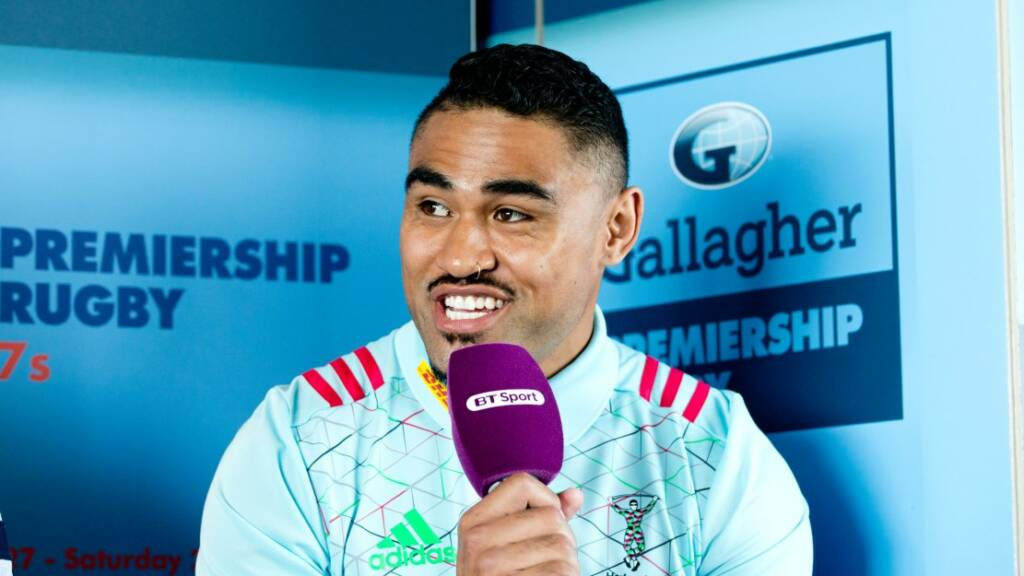 Harlequins have a point to prove next season in Gallagher Premiership Rugby, admits Saili