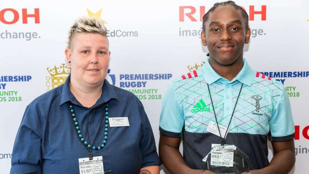 Harlequins and Worcester Warriors duo share PLAY Achiever of the Year Award