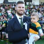 Saints to play Tigers at Twickenham in aid of Rob Horne