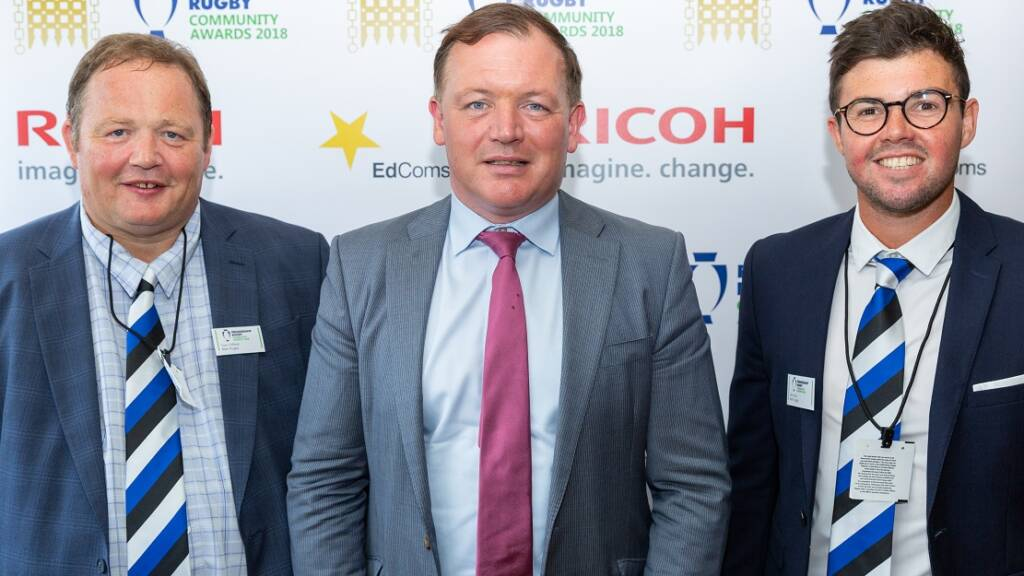 Damian Collins MP hails vital role of rugby at Premiership Rugby Parliamentary Community Awards