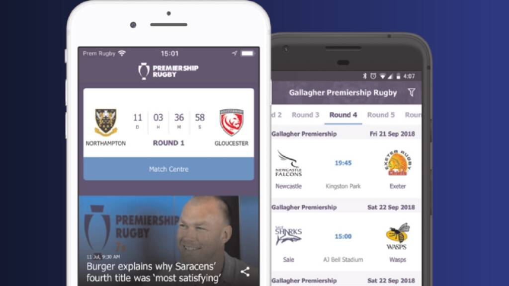 How to download the FREE Premiership Rugby app