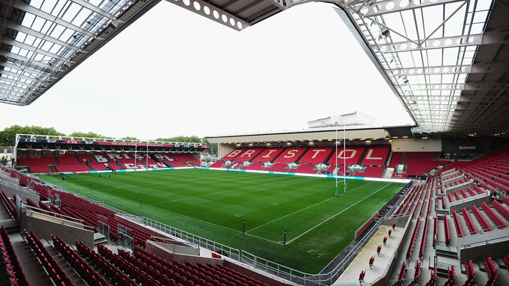 Kick-off change for Bristol Bears v Leicester Tigers clash