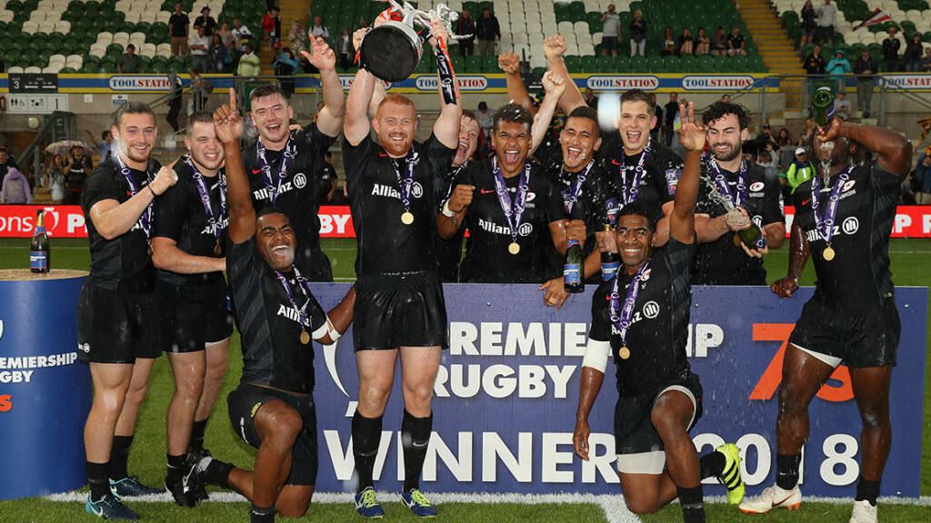 Saracens are Premiership Rugby 7s Cup Champions