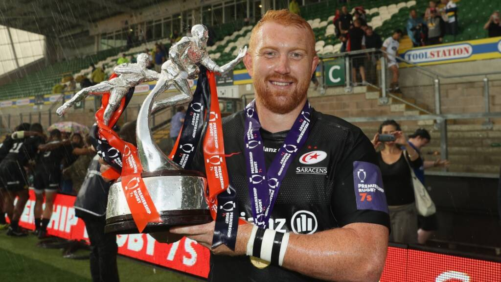 Conlon delighted to see Saracens peak at perfect time for Premiership Rugby 7s success