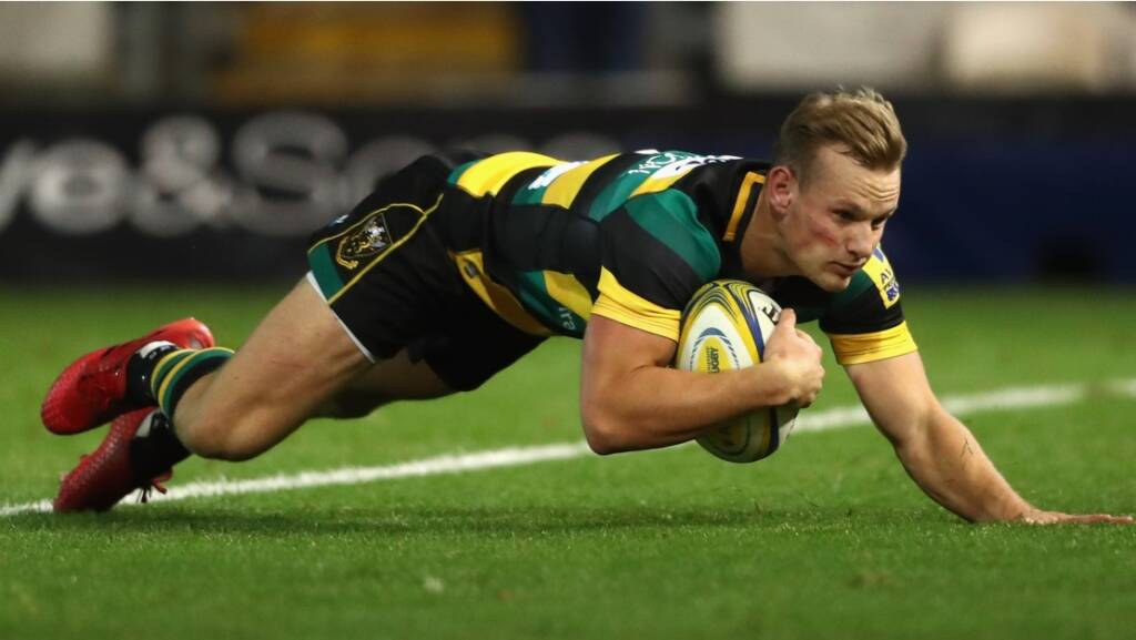 "Northampton Saints signings ""fitting in really well"" says Hutchinson"