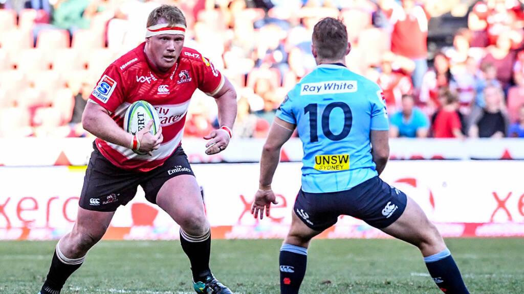 Bath Rugby sign van Rooyen