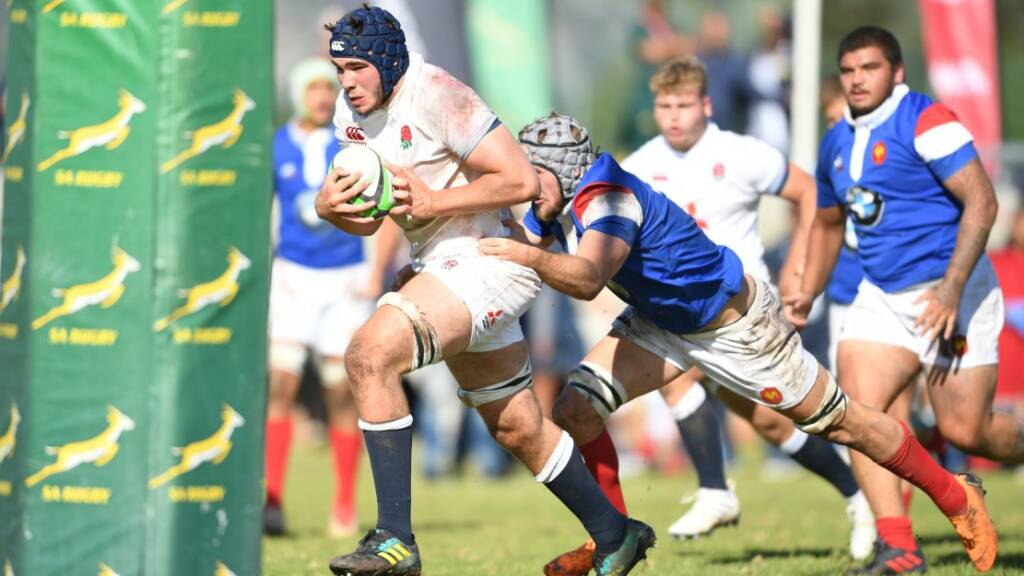 718a41cdfc3 England defeated by France in U18 International Series opener. 11 August  2018