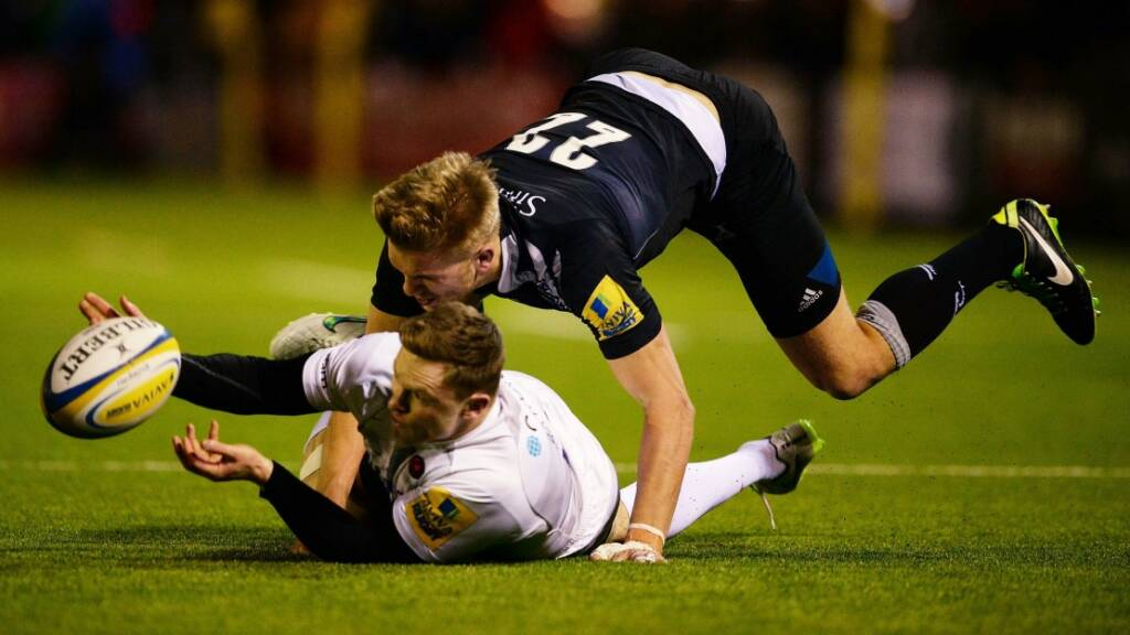 Saracens v Newcastle Falcons: Three memorable matches