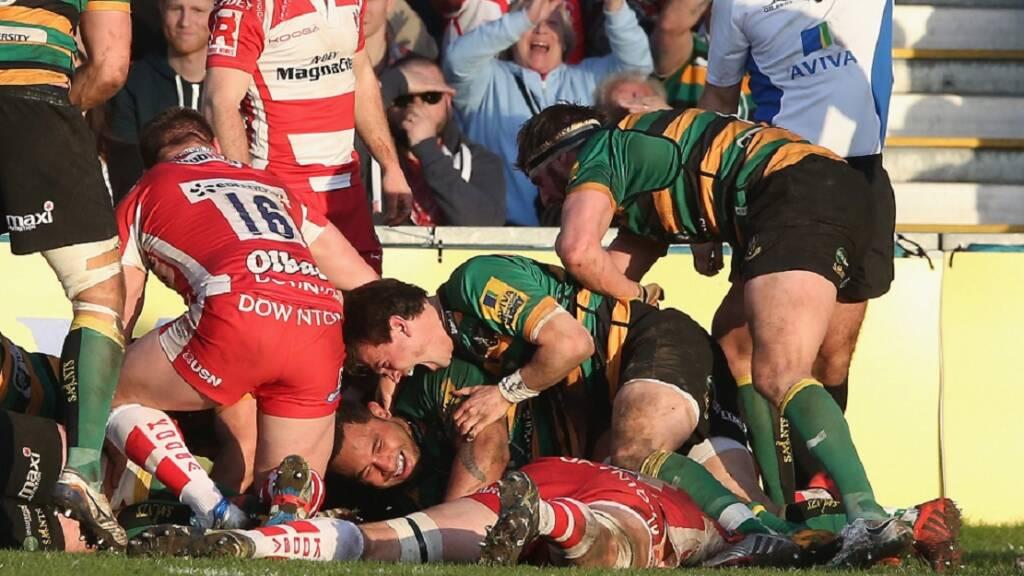Gloucester v Northampton Saints: Three memorable matches