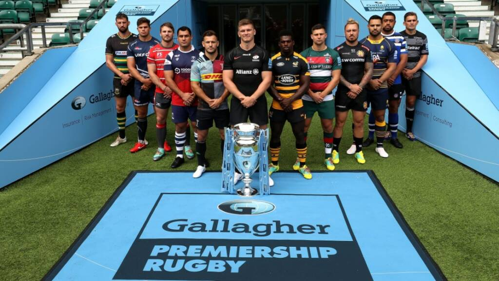 Gallagher Premiership Rugby clubs complete their final preparations