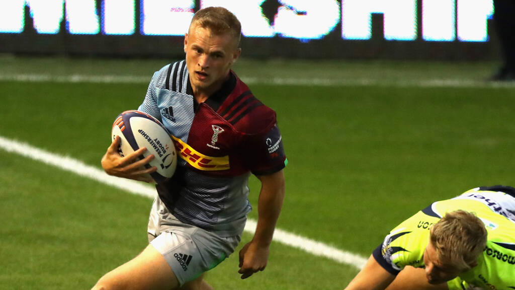 Calum Waters released on loan from Harlequins to Jersey Reds