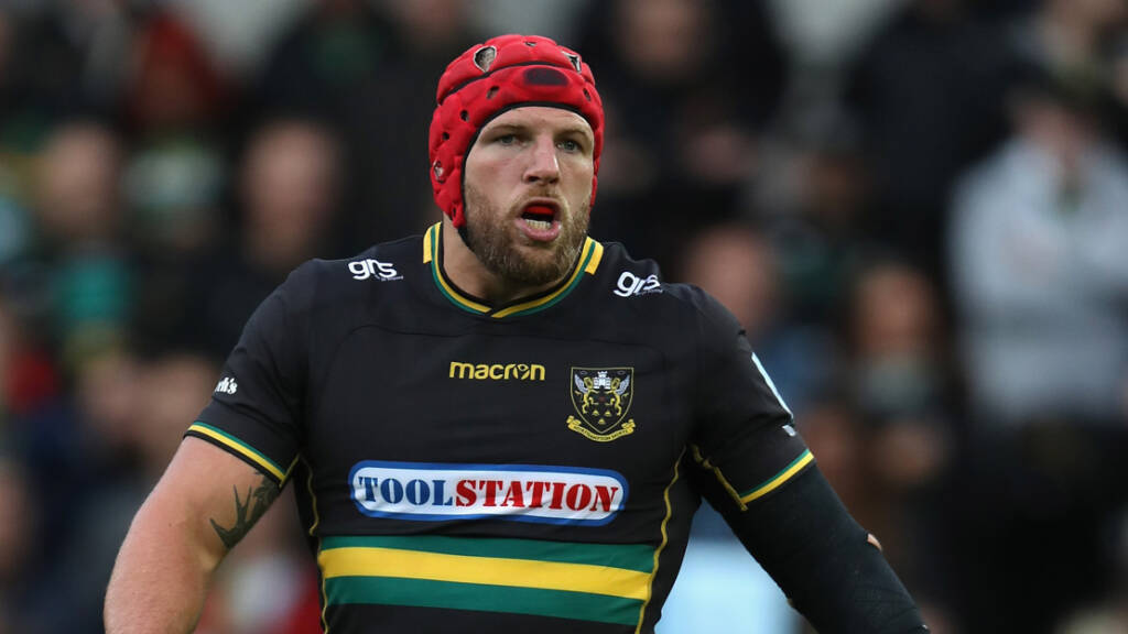 Northampton Saints' James Haskell excited to return to Twickenham in aid of Rob Horne