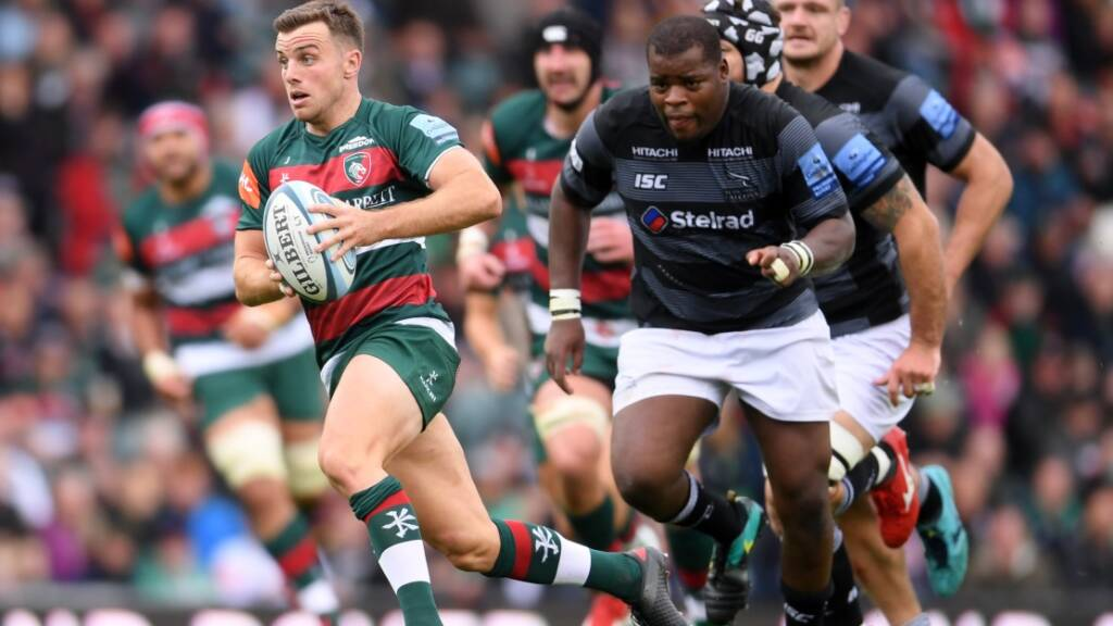 George Ford Leicester Tigers v Falcons