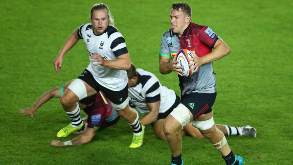 Premiership Rugby Shield Review: Harlequins star against Bristol Bears