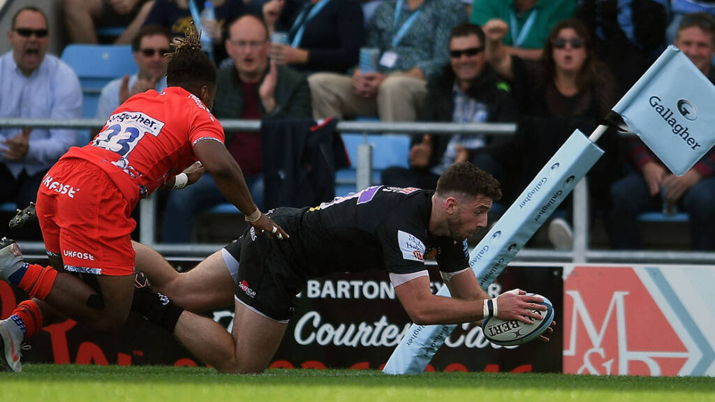 Exeter Chiefs name side to face Newcastle Falcons in Gallagher Premiership Rugby