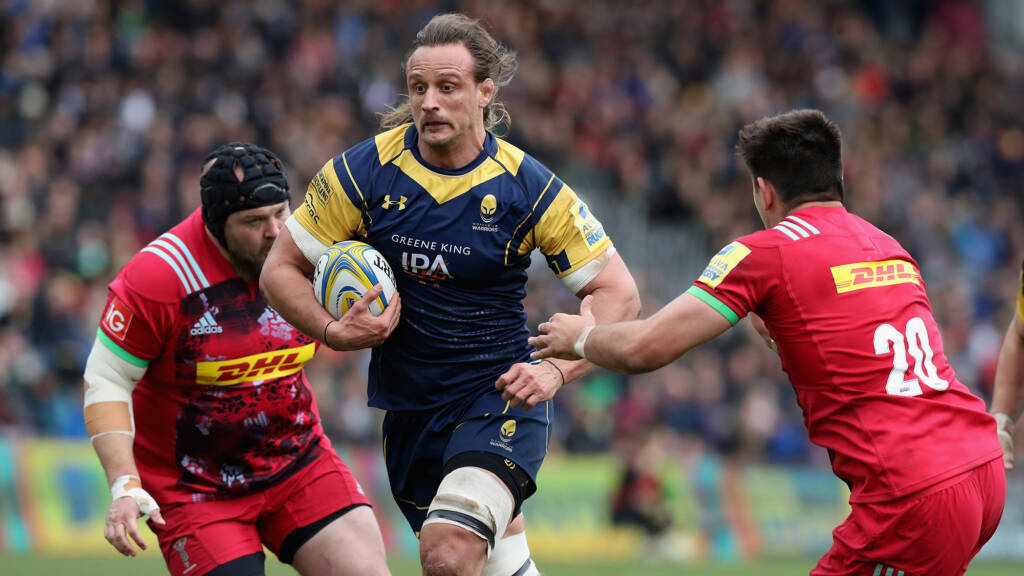Three changes for Worcester Warriors' trip to Welford Road