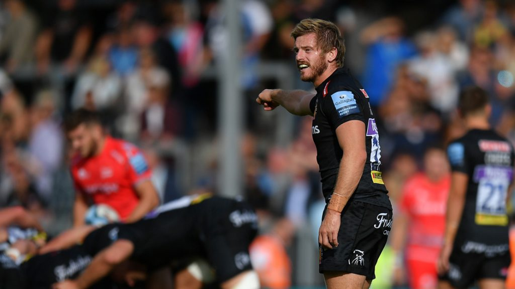 Exeter Chiefs name side to face Worcester Warriors in Gallagher Premiership Rugby