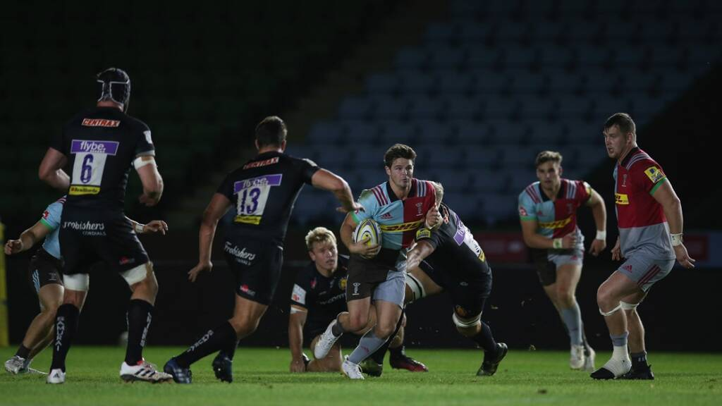 Tim Swiel joins Newcastle Falcons from Harlequins