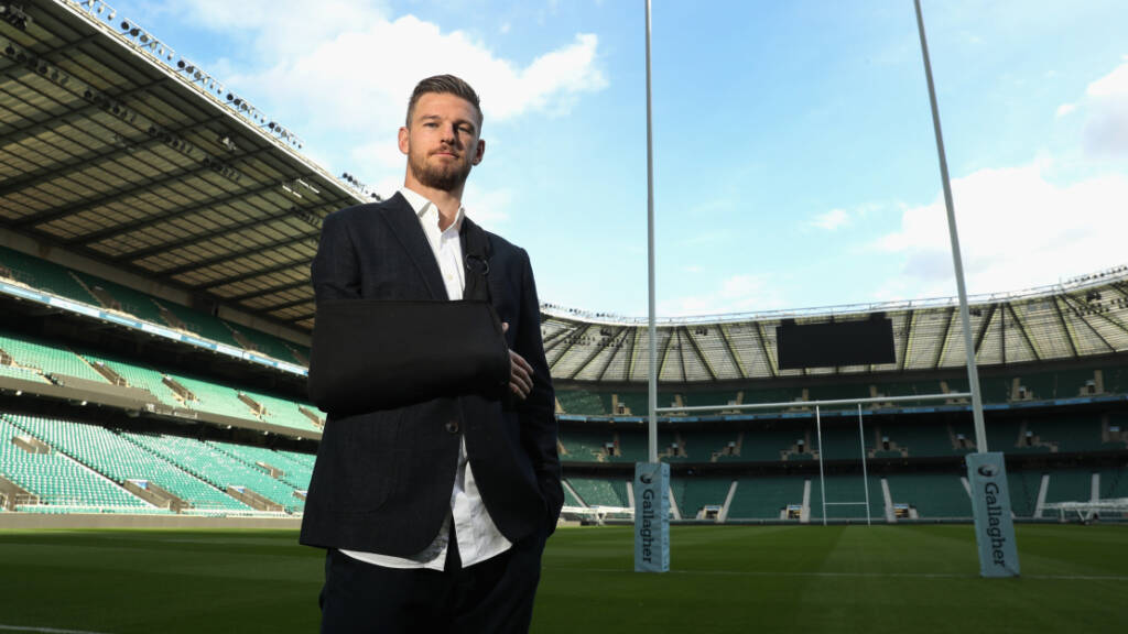 Rob Horne resigned to paralysis in right arm