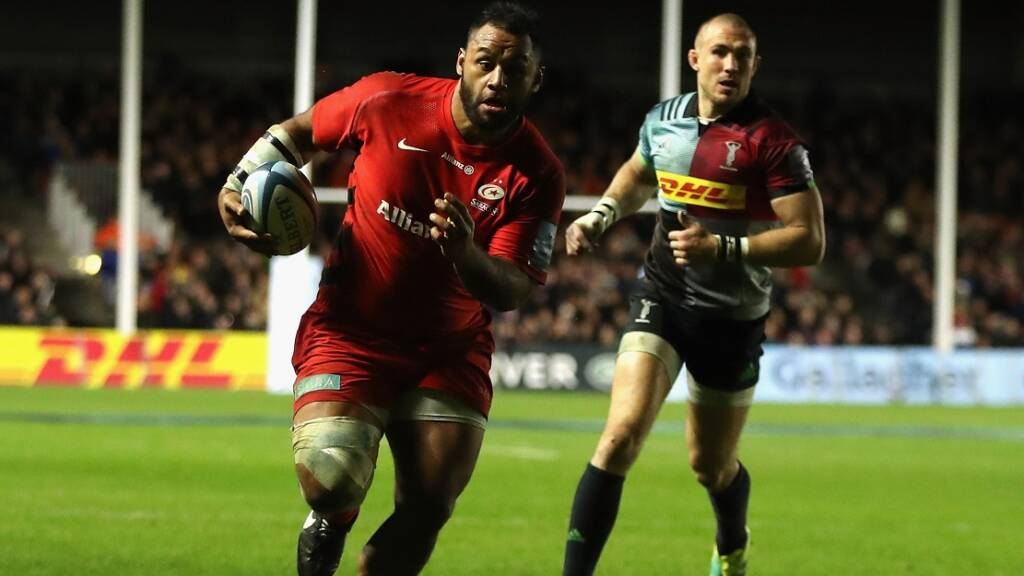 Billy Vunipola, Saracens