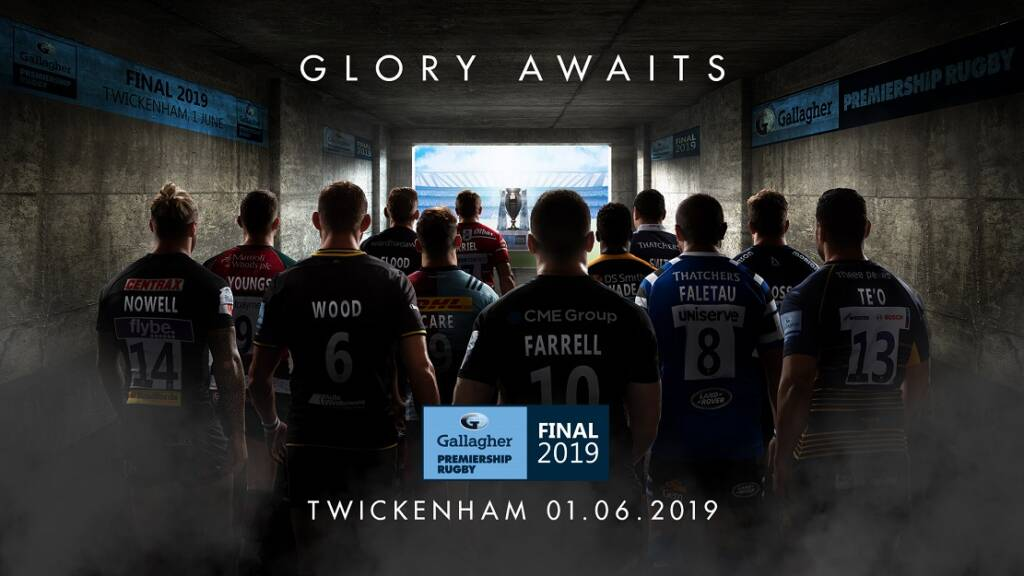 The Gallagher Premiership Rugby Final 2019  278b6c051