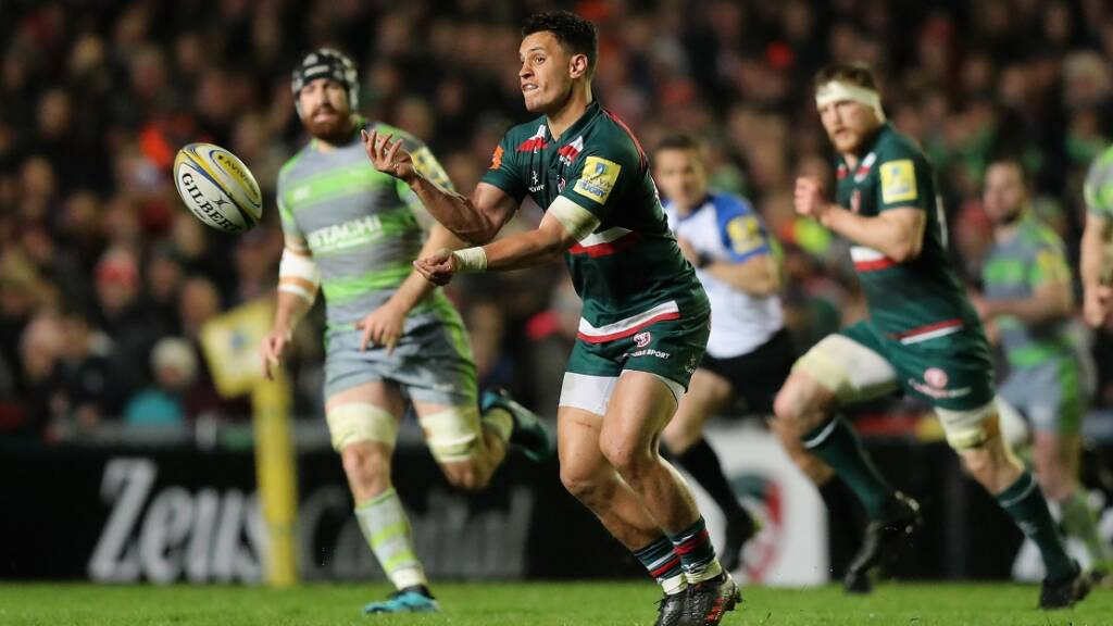 Leicester name team to face Ulster