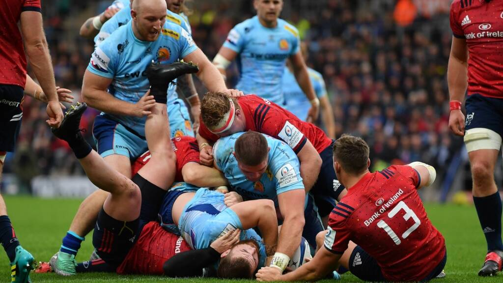 European Champions Cup wrap: Exeter share spoils with Munster